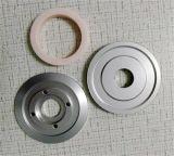 Подгонянный шкив D60*D22*H13mm керамического покрытия алюминиевый более неработающий для индустрий Wire&Cable