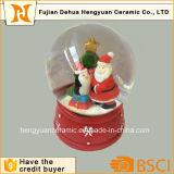 Globo de cristal del agua de Papá Noel de la mini talla para la Navidad