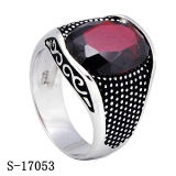 New Arrival Sterling Silver Jewelry Ring com Ágata Natural