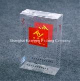 Caixas plásticas personalizadas do pacote do presente do animal de estimação da classe elevada