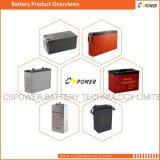 Bateria profunda 12V150ah FT12-150 do ciclo do gel solar terminal dianteiro