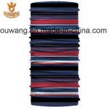 Bandana rouge magique de refroidissement de tube de collet d'écharpe de Paisley