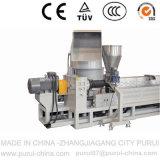 Máquina de granulagem plástica de dois estágios para flocos da película e do frasco dos PP