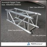 Aluminiumkasten-Binder-Stand für Erscheinen