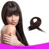 Свяжите человеческие волосы тесьмой Vrigin Remy выдвижения волос бразильские