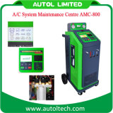 2016 de volledig Automatische Machine van de Airconditioning van de Auto van de Apparatuur van het Onderhoud van Airconditioning amc-800 Schoonmakende