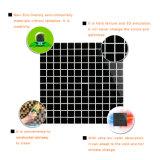 Precio de fábrica mosaico negro piscina Azulejos cuadrados chimenea de cristal Surround