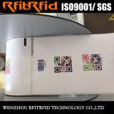Escritura de la etiqueta imprimible a prueba de accidentes antiácida de la etiqueta engomada del rango largo RFID de la frecuencia ultraelevada para la gerencia del almacén