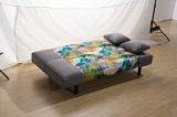 Base dobrada do sofá da sala de visitas dois múltiplos do projeto da cor