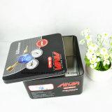 Kundenspezifisches Metallrechteckiges drei Set-Zinn für das Hilfsmittel-Verpacken