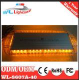 """21.5 """" mini LED barre chiare ambrate del volante della polizia"""