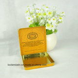 Коробка олова табака изготовленный на заказ металла прямоугольная, коробка олова сигареты, случай сигареты