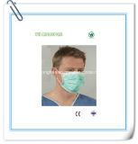 Máscara cirúrgica sobre não tecida de três dobras com laço