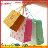 ハンガーの穴または買物をするハンドル袋が付いているプラスチックまたはペーパー包装袋