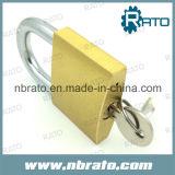 Cadeado de bronze resistente com chave mestra