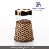 [1300مل] زجاجيّة طعام تخزين زجاجة مع كم زخرفيّة