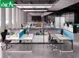 Новая самомоднейшая таблица встречи офиса шикарного типа с белой ногой стола