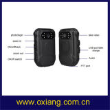 WiFi/Bluetooth/4G/3G/GPS를 가진 경찰 바디에 의하여 착용되는 사진기