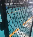 Polijst de Zwarte Gegalvaniseerde Poort van het Netwerk van de Draad van het Staal