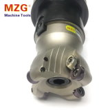 Cortador de trituração do moinho de extremidade do canto redondo de máquina-instrumento do torno do CNC