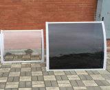 2017 het Decoratieve Kleine Afbaarden van het Zonnescherm van het Terras van het Aluminium Afbaardende