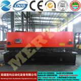 Le cesoie idrauliche della ghigliottina di QC11y (k) -20X6000 (CNC), rivestono le macchine per il taglio di metalli