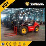 Prijs van de Ruwe Vorkheftruck Terrian van China YTO 2.5T met Motor YANMAR
