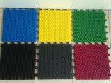 De openlucht Met elkaar verbindende Plastic Professionele Vloer van de Bevloering pp van de Sport Skidproof Materiële Plastic