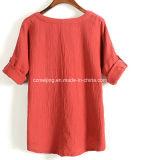 Green&Wineの女性の`Sの綿ワイシャツ