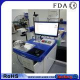 machine économique d'inscription de borne de laser de fibre de Tableau de 20W &30W &50W pour les aciers inoxydables, métaux, ABS, plastiques