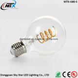 Indicatore luminoso antico E27 S32 delle lampadine del filamento del Edison LED dell'annata di Dimmable T45/ST64/G125 retro