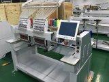 10 pouces du large écran 2 de broderie de prix à grande vitesse principaux de machine