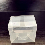 製造業者はPPの無光沢の半透明なボックスをカスタマイズした