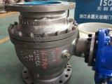 Установленные Trunnion шариковые клапаны CF8m с утверждением Ce