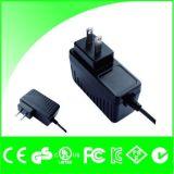 UE de 12V 1A R-U nous bloc d'alimentation du support DEL de mur de fiche d'Au