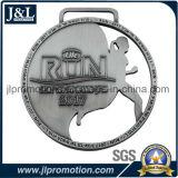 Il buon prezzo la placcatura in lega di zinco dell'argento dell'oggetto d'antiquariato della medaglia del metallo della pressofusione