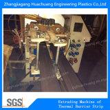 Máquina termal de la tira de la rotura de la poliamida