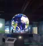 Mira Ball P4.8 dinámica del LED para publicidad interior Display