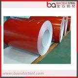 A cor do material de construção revestiu a bobina de aço de PPGI