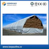 Bâche de protection en bois durable imperméable à l'eau extérieure de PE de couverture