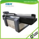 Stampante a base piatta UV di ampio formato di Wer per legno