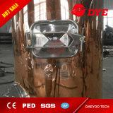 caldera del Brew de la máquina de la cervecería 1000L/fermentadora de cobre roja de la cerveza/los tanques brillantes de la cerveza