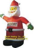 Aufblasbares Luft-Schlag-Weihnachtsmann-Maskottchen-Kostüm für draußen