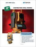 Estación total clásica de Topcon para la encuesta sobre la construcción