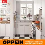 De um estilo nórdico em forma de L quadrado de 6 cozinha pequena medidores (OP16-L27)