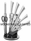jeu du couteau 8PCS avec le stand acrylique