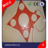 Gomma di silicone appiccicosa della Cina 5V 12V che riscalda rilievo caldo