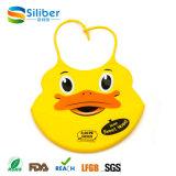 Wholesale Custom Food Grade Silicon Baby Bibs pour enfants