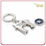 Suporte personalizado de chave de moedas Token de trole de metal de liga de zinco personalizado