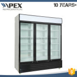 Охладитель индикации 3 Self-Closing прикрепленный на петлях стеклянных дверей чистосердечный